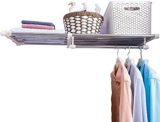 Expandable Closet Shelf Space Saver Racks for Kithchen Cupboard Wardrobe Bookcase APSOONSELL Ajustable Shelf Closet Storage Rack Organizer