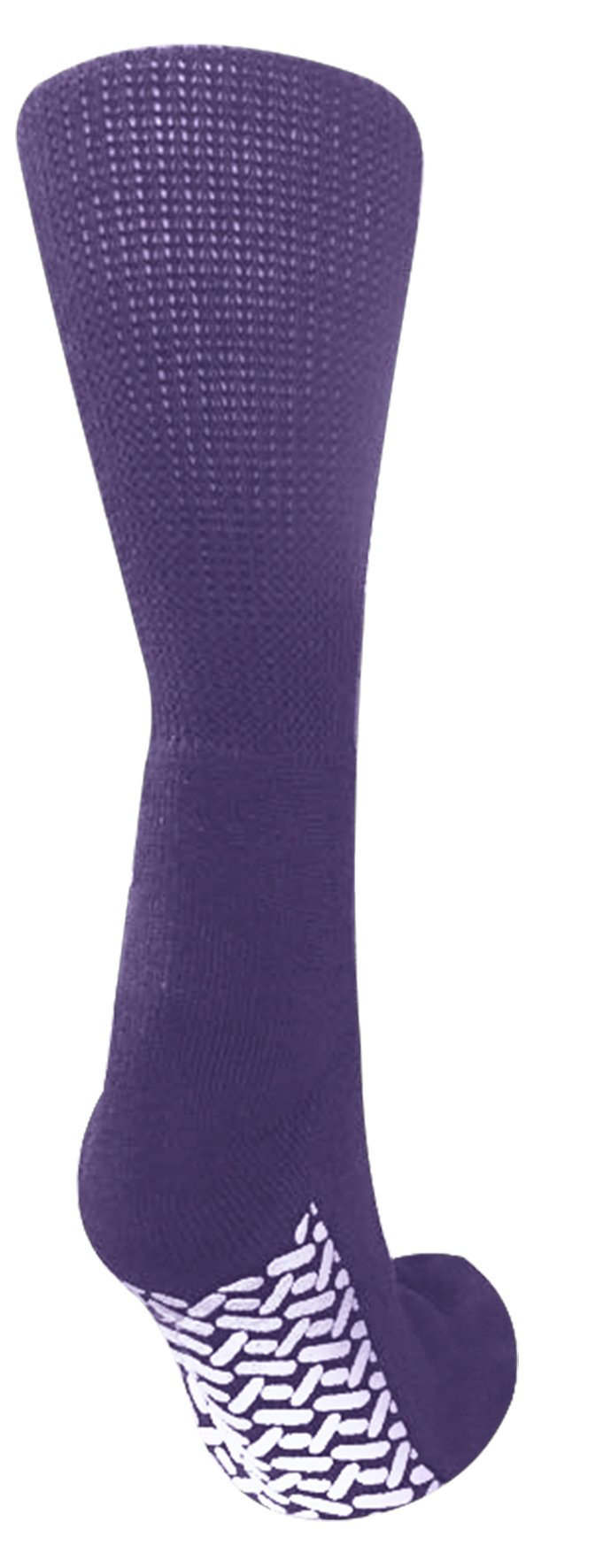 Pack of 3 Personal Touch Women's Comfortable Diabetic Slipper Socks Crew Style (Lilac, 9-11)