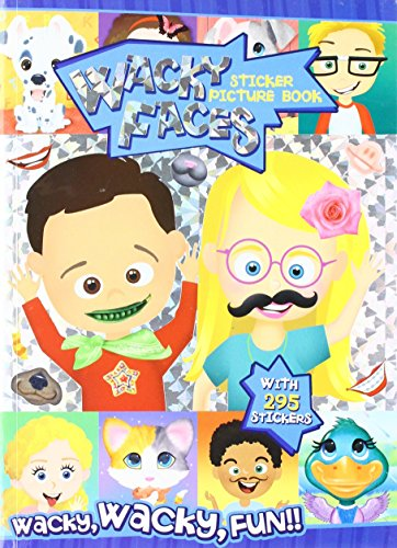 (Wacky Faces Create a Face With Stickers & Foil)