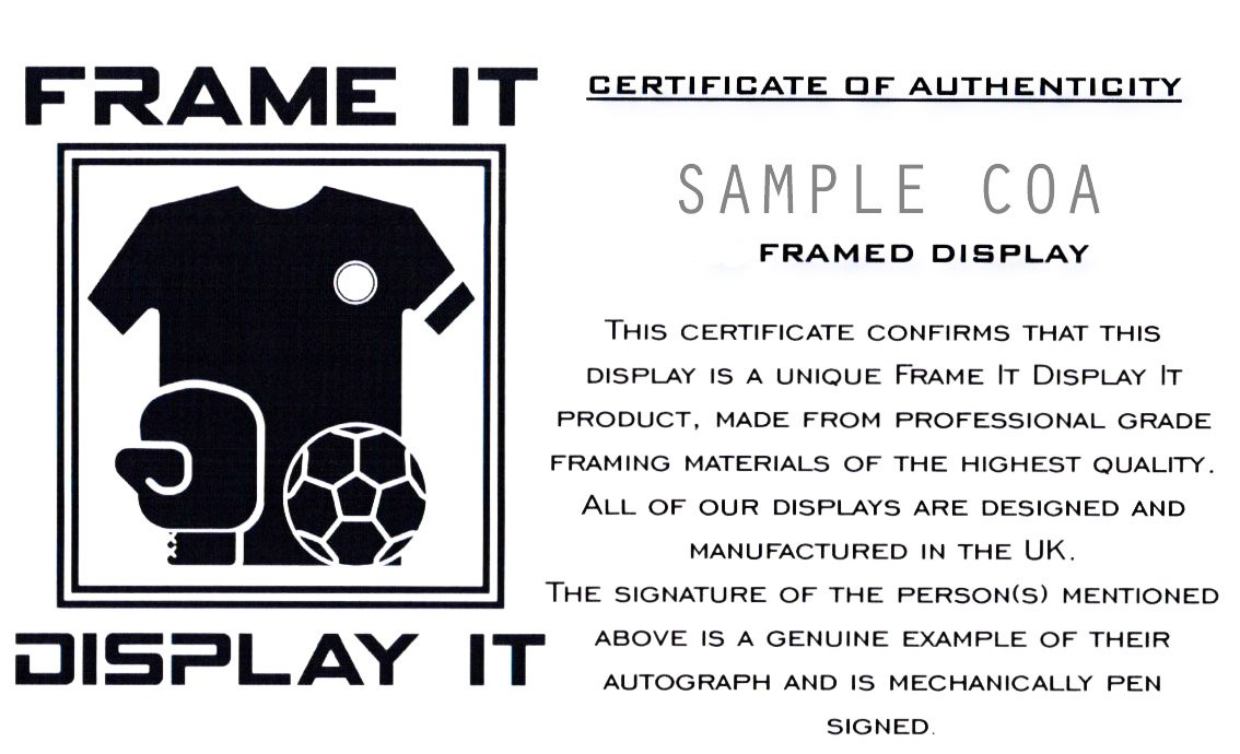 1fa61397e91 Jamie Vardy Leicester City Signed Shirt 3D Framed Display with COA:  Amazon.co.uk: Sports & Outdoors