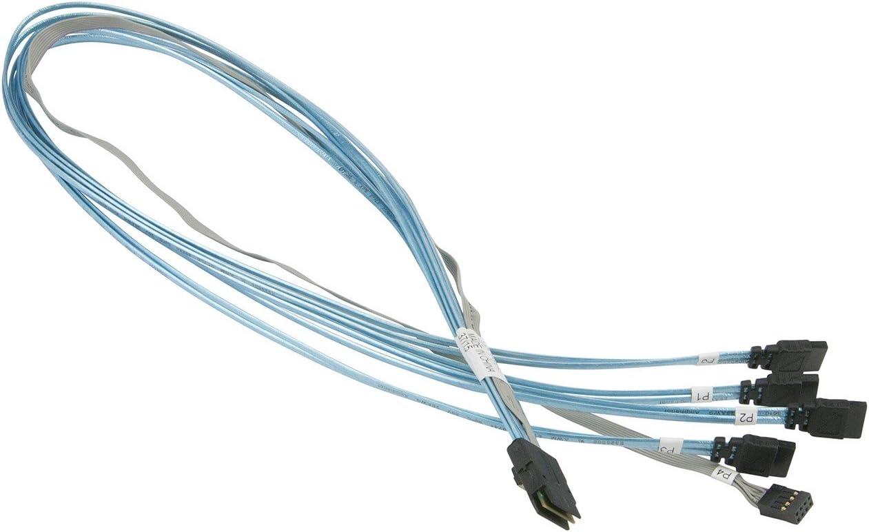 Supermicro 50cm IPASS to 4x SATA Cable CBL-0097L-02