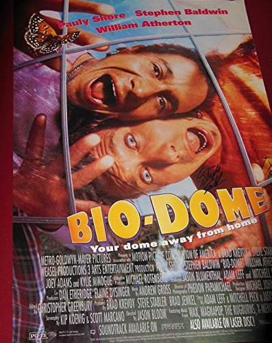 Stephen Baldwin Bio Dome Authentic Signed Autographed 27X40 Movie Theatre Poster Loa