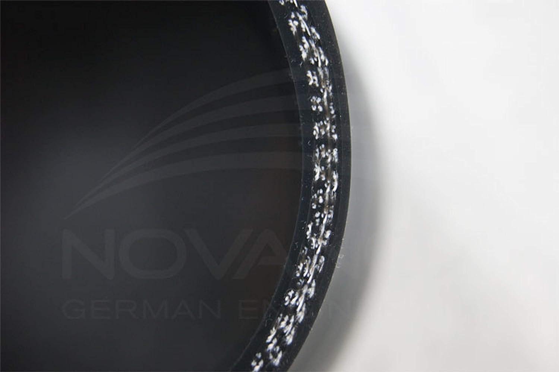 diametro interno: /Ø 80-60 mm dimensioni a scelta colore nero Tubo flessibile in silicone con angolo di riduzione di 90/°