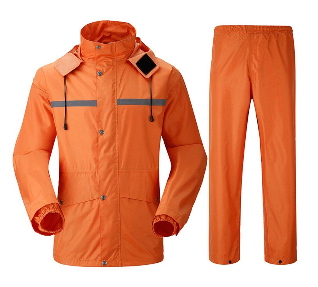 Insun OUTERWEAR メンズ B074KYS8BJ 5L|オレンジ オレンジ 5L