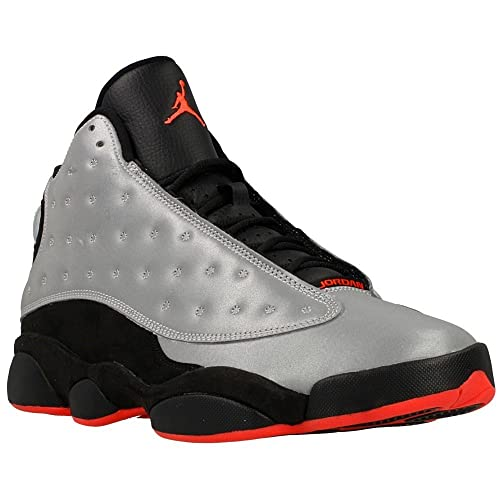 b4b6a0a2d5fd Nike Mens Air Jordan 13 Retro PRM 3M Reflective Reflective Silver Infrared  23 Synthetic Basketball Shoes Size 10.5  Amazon.ca  Shoes   Handbags