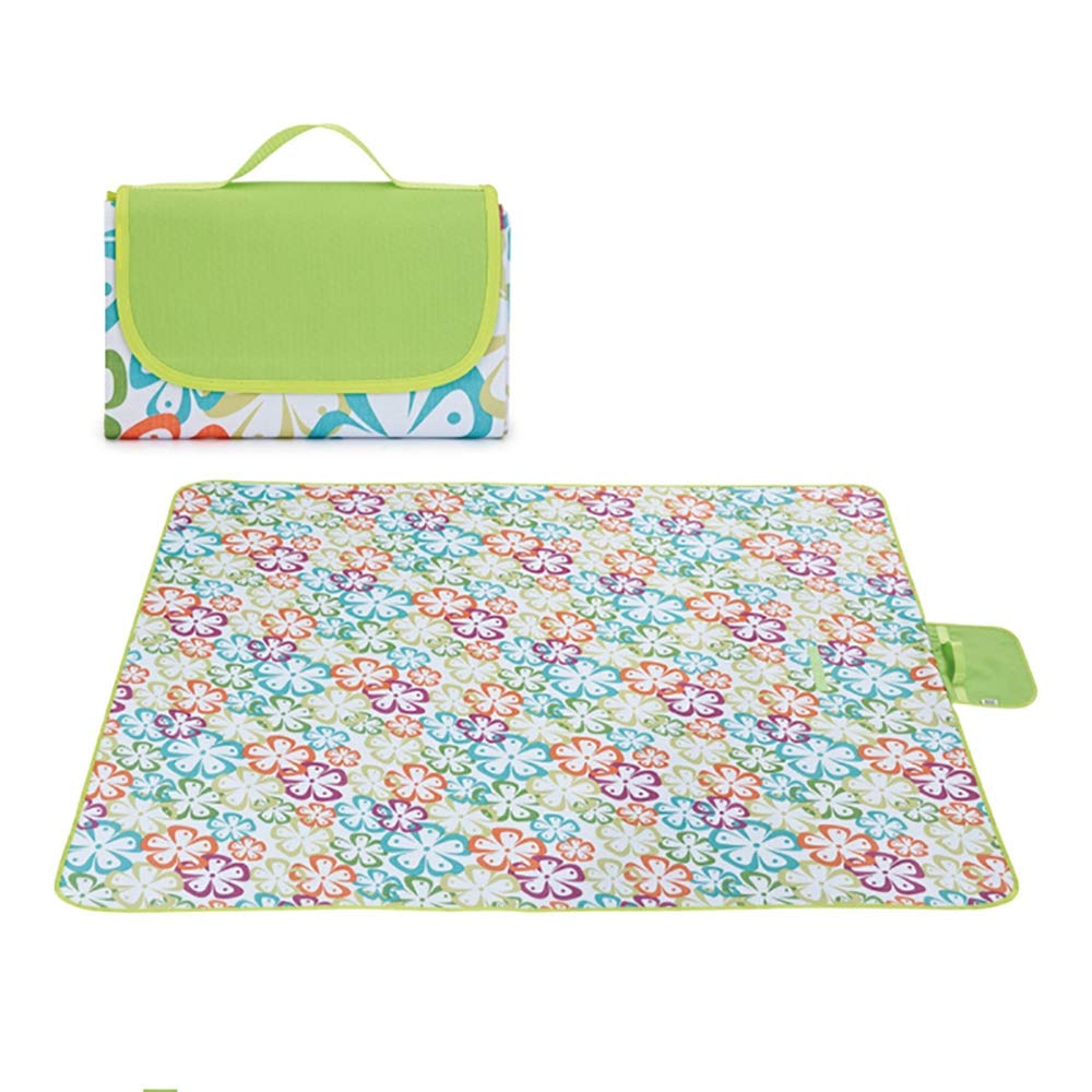 Große Picknickdecke mit wasserdichtem Backing-Portable Picnic Mat Feuchtigkeit Proof Pad Washable Rasen Mat Picknick-Pads für Beach Camping mit Handle B07PPR976T | Shop