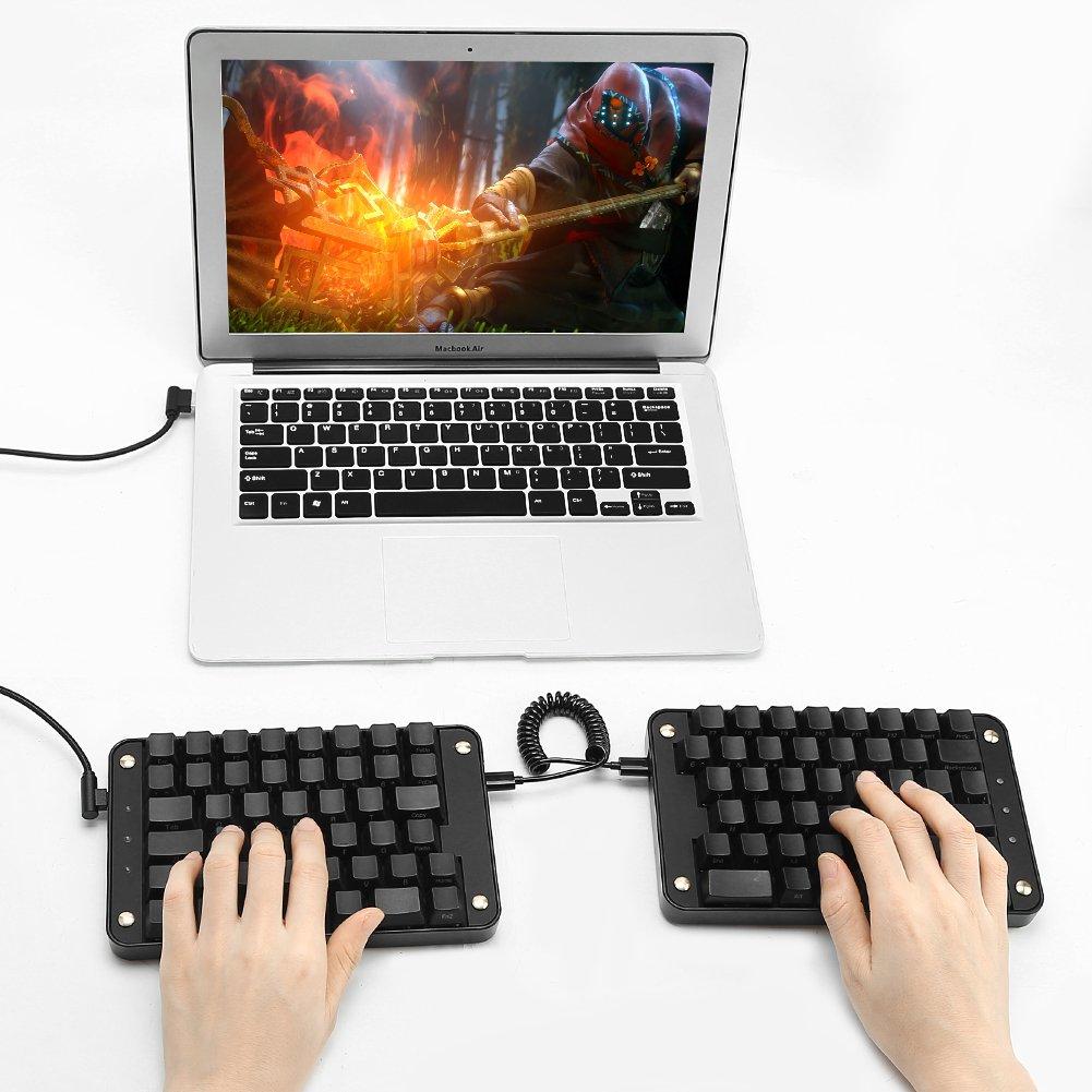 Koolertron可编程分体式机械键盘
