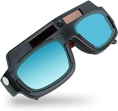 Gafas de Soldadura Antideslumbrante Auto Oscurecimiento Cambio de Luz Automático
