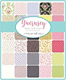 """Guernsey Charm Pack By Brenda Riddle Designs; 42 - 5"""" Precut Fabric Quilt Squares"""