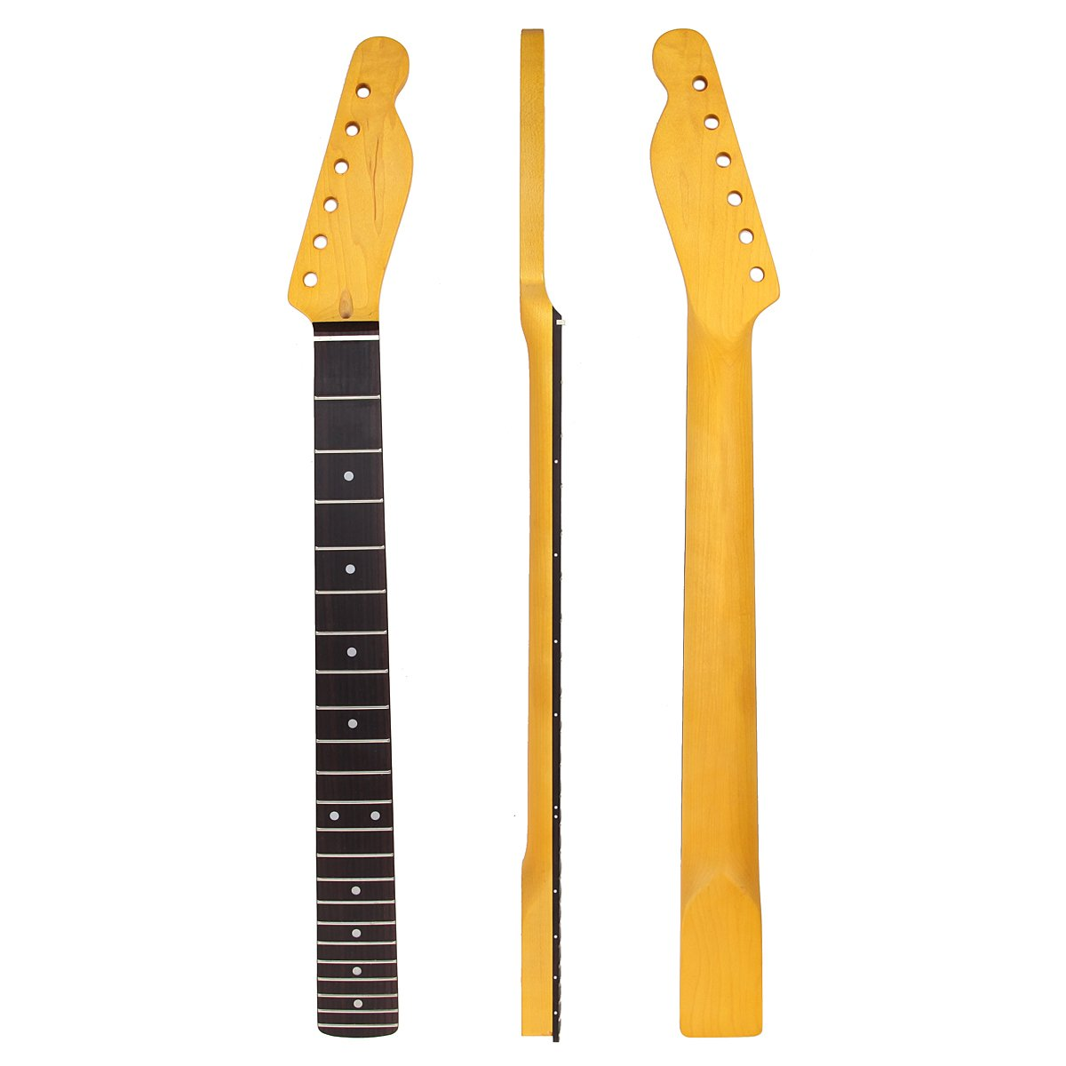 Work Wear & Uniforms 22 Frets Maple Guitar Neck Rosewood Fingerboard Neck For Fender Tele Replacement Guitar Accessories Parts