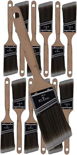Pro Grade - Paint Brushes - 12Ea 2