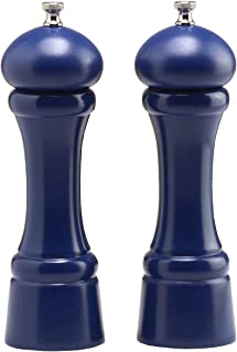 "product image for Chef Specialties 8"" Windsor Pepper Mill and Salt Mill Set, Cobalt Blue"