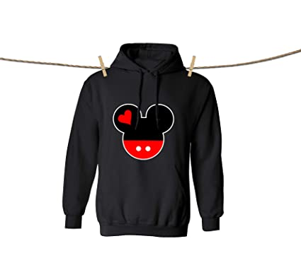 3b0971fdfadc Mickey Mouse and Minnie Mouse Design Disney Hoodies for Boys and Girls  Cotton Kids' Hooded