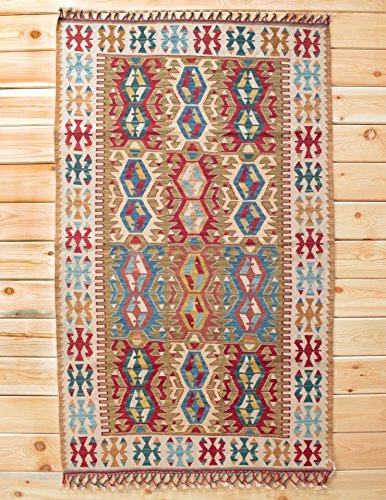 Turkish Rug Kilim Rug 3 87 X 6 29 Ft 118 X 192 Cm Area Rug Tapis