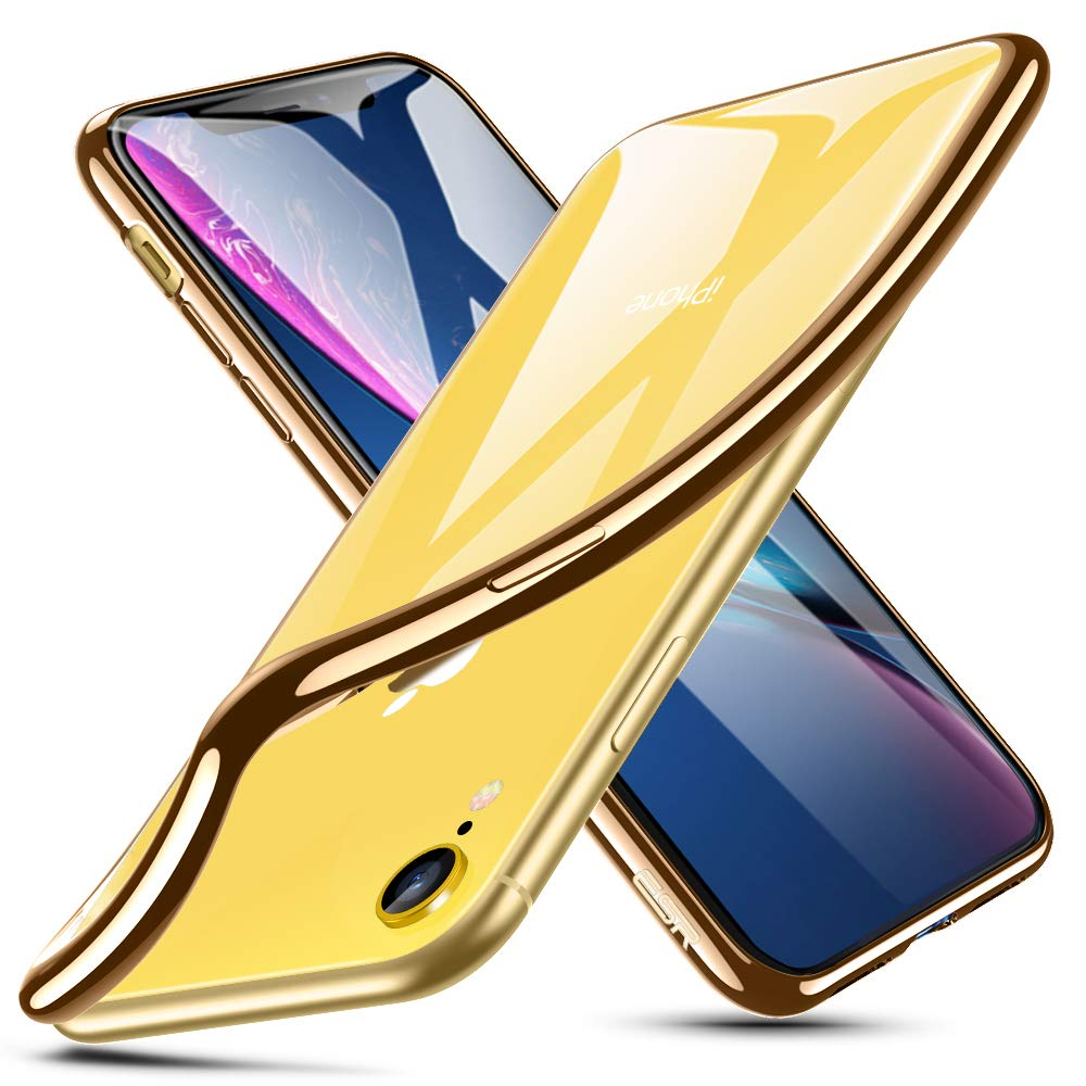 ESR Funda para iPhone XR, Funda para Suave TPU Gel Ultra Fina Protecció n a Bordes y Cá mara Compatible con Carga Inalá mbrica Enjaca Apple iPhone XR de 6.1'-Transparente Electronic Silk Road Corp