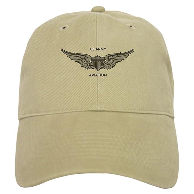 8df910b9fb3767 CafePress - Army Aviation - Baseball Cap with Adjustable Closure, Unique  Printed Baseball Hat Khaki
