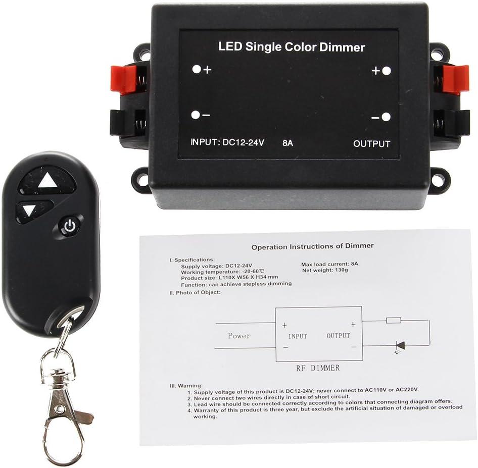 Toolmore Regulador Led Iluminacion Dimmer Inalambrica 12v