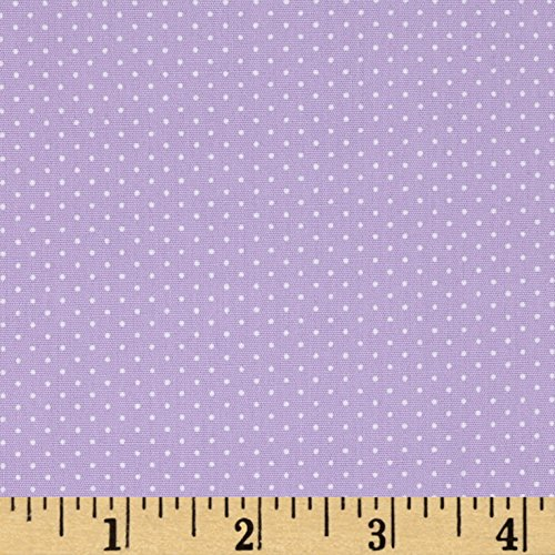 Robert Kaufman Sevenberry Petite Basics Mini Dot Fabric by The Yard, Lavender ()
