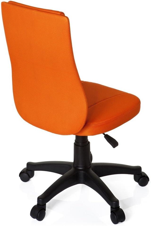 hjh OFFICE 670410 Kinder Schreibtischstuhl KIDDY Base Netz-Stoff Pink Drehstuhl Ergonomisch H/öhenverstellbar