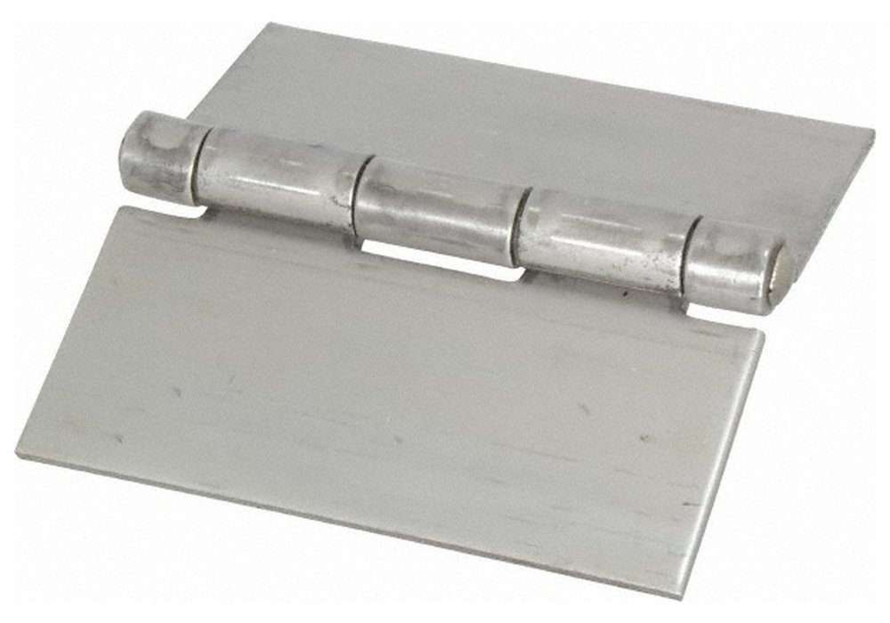 4'' Long x 4'' Wide x 0.12'' Thick, 316 Stainless Steel Commercial Hinge, 0.25'' Pin Diam