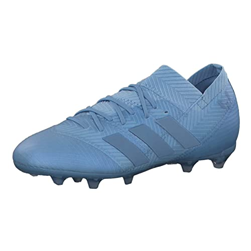 adidas Nemeziz Messi 18.1 FG J, Botas de fútbol Unisex niño, Azul Azucen/Dormet 0, 38 EU: Amazon.es: Zapatos y complementos