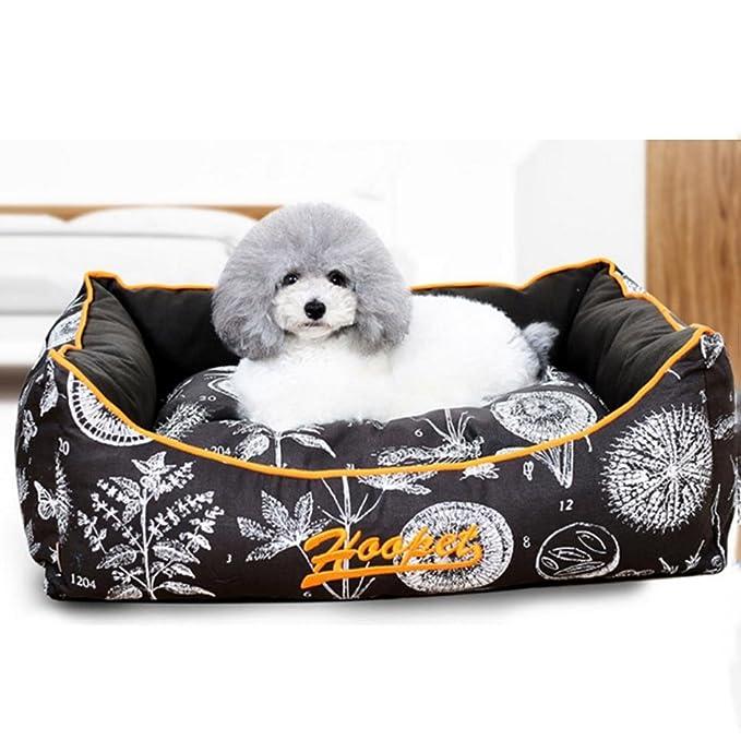 Gqiu - Caseta Cuadrada de Lujo, Suave y cómoda para Cama extraíble y Lavable: Amazon.es: Productos para mascotas