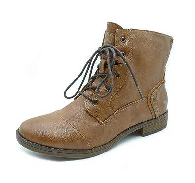 Mustang Shoes Damen Kurzschaft Stiefel Stiefelette, Braun