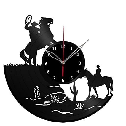 Amazon.com  ForLovedGifts Dallas Cowboys Men Vinyl Record Wall Clock ... 5788414d3
