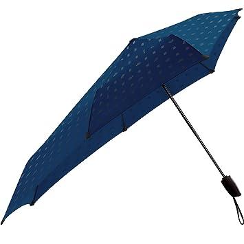 SENZ Automatic paraguas, azul/gris, S