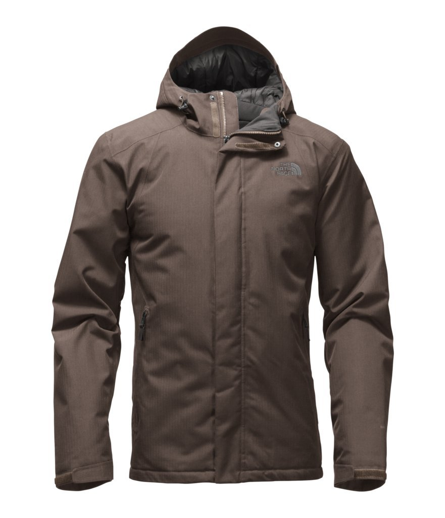 The North Face Men's Inlux Insulated Jacket - Falcon Brown Heather - M (Past Season) by The North Face