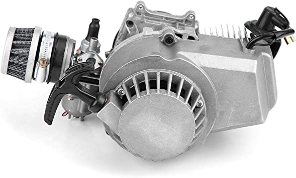 Duokon Motor del motor de la motocicleta, bolsillo del motor del motor de arranque de 47CC 49CC 2 para MINI Quad Bike Scooter ATV: Amazon.es: Coche y moto