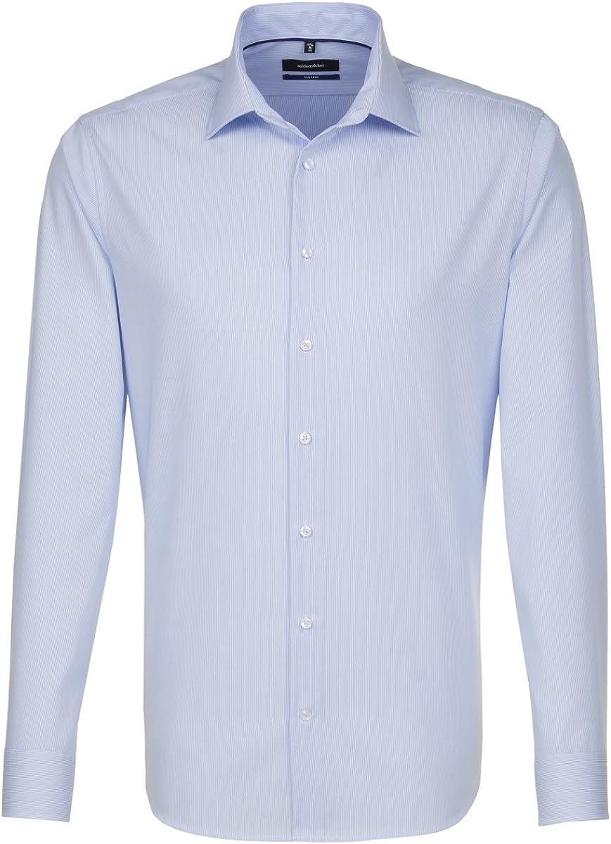 Seidensticker Calzini Business Camicia slim manica lunga Kent colletto UNI