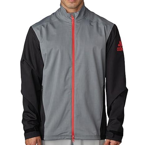 adidas Golf Men's Climaproof Heather Rain Jacket
