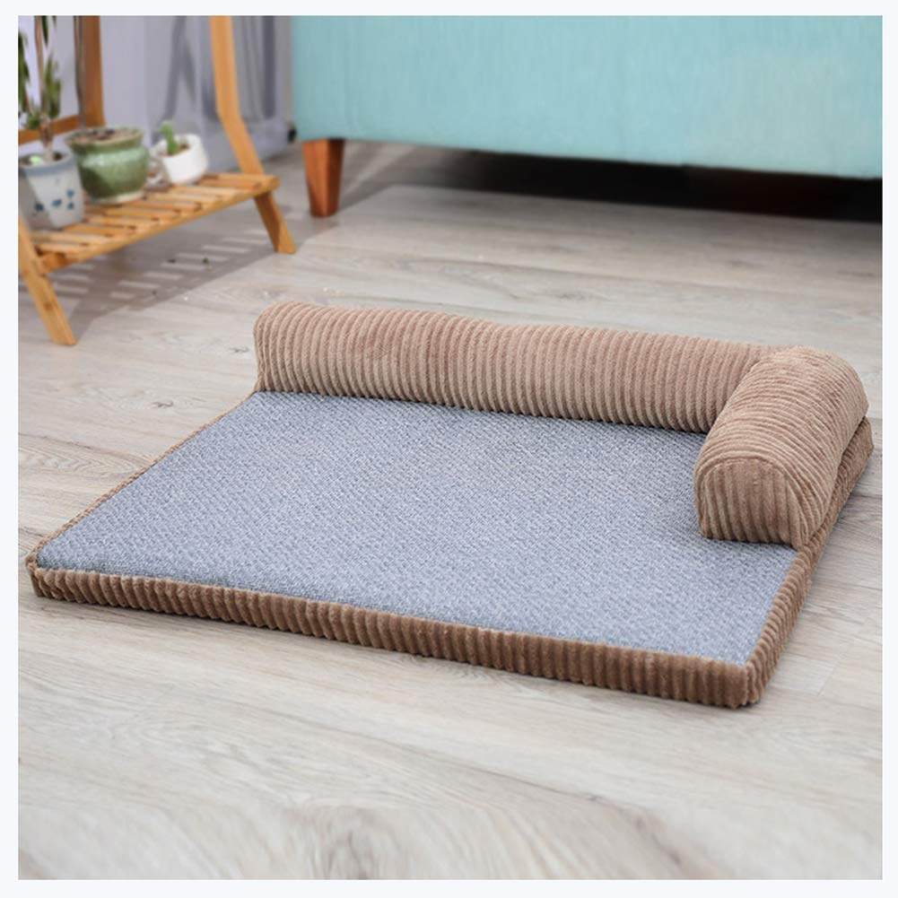 YINING Pet nest,Dog Bed/Oxford Cloth/Four Seasons Universal/Removable wash/Chaise Lounge Pillow Sofa-Style Pet Bed