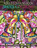 Adult Coloring Book | Shoes Coloring: Women