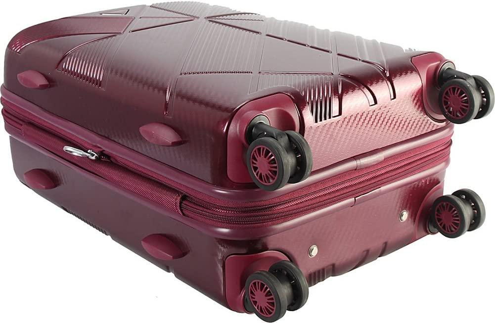 Grey Diophy Pacpro 20 Hardside Carry-On Spinner Luggage