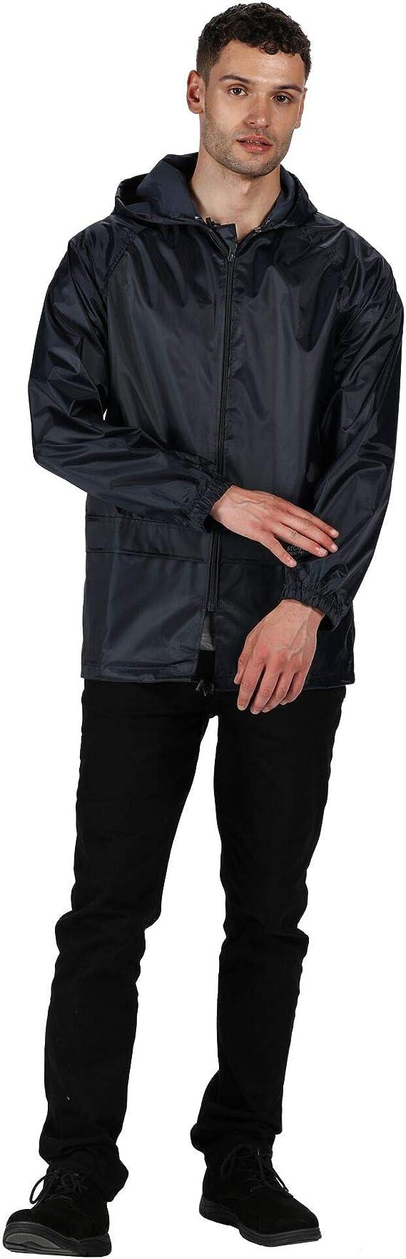 Regatta W408 Stormbreak Mens Jacket Lightweight Waterproof Windproof Work Coat