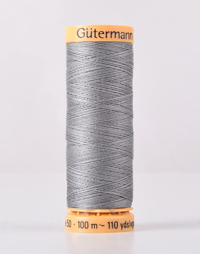100m by Gutermann 38-Silver Grey 100/% Polyester Sew All Sewing Thread Gutermann 2T100//38