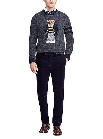 Polo Ralph Lauren Maglia Polo Bear Uomo Mod. 710717793 M: Amazon ...