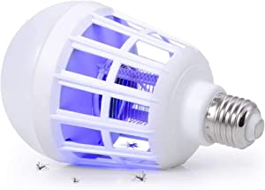 Bug Zapper Light Bulb, 2 in 1 Mosquito Killer Lamp Led Electronic Insect & Fly Killer