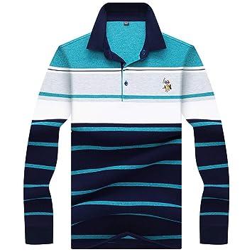 NISHIPANGZI Ropa de Hombre Nuevo Cómodos Bordado Polo Shirt ...