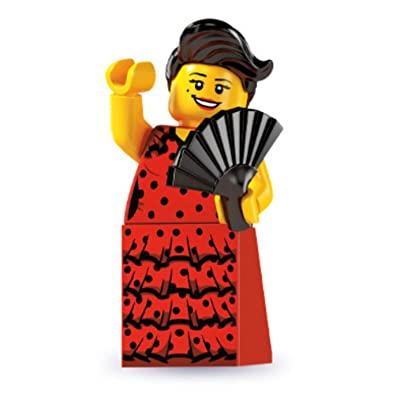 "Lego Series 6 ""Flamenco Dancer"" Minifigure: Toys & Games"
