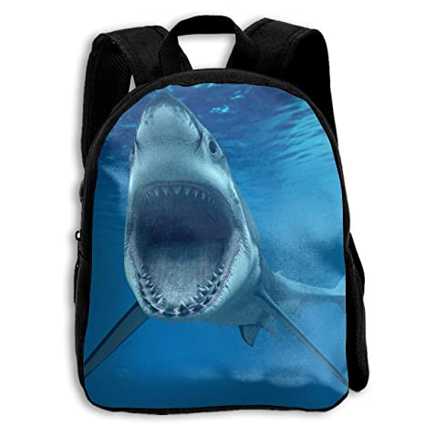 83eccee003 Crazy Popo Toddler Kids Cool Shark Preschool Bag Backpack Satchel Rucksack  Handbag