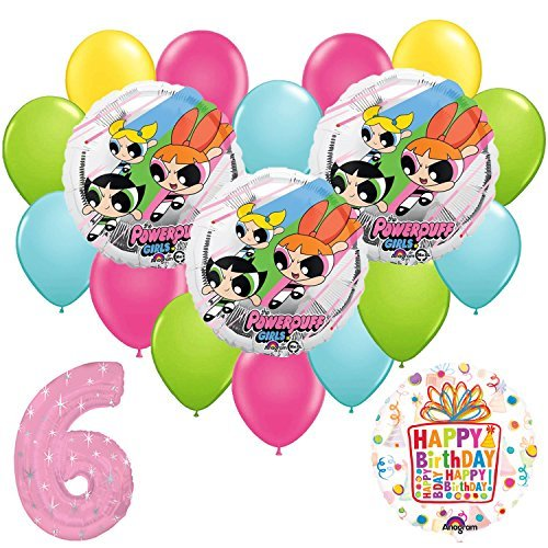 Amazon.com: Powerpuff Girls 6th globo de fiesta de ...