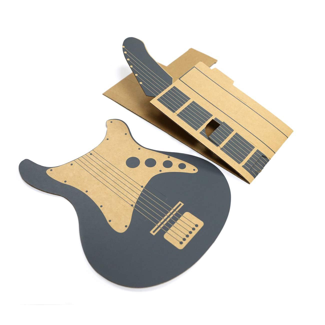 Labo DIY Carboard Guitarra Holder para Nintendo Switch,The perseids Estuche de música DIY para controladores Joy-Con, modo de garaje for Toy-Con: Amazon.es: ...