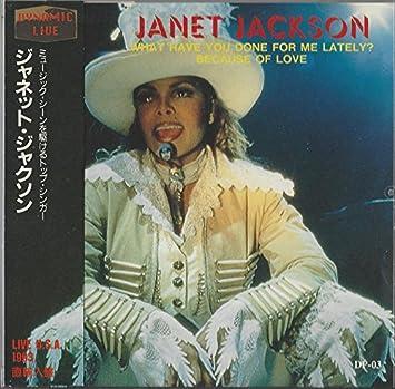 Dynamic Live     Janet Jackson CD, Live, Import, Original recording