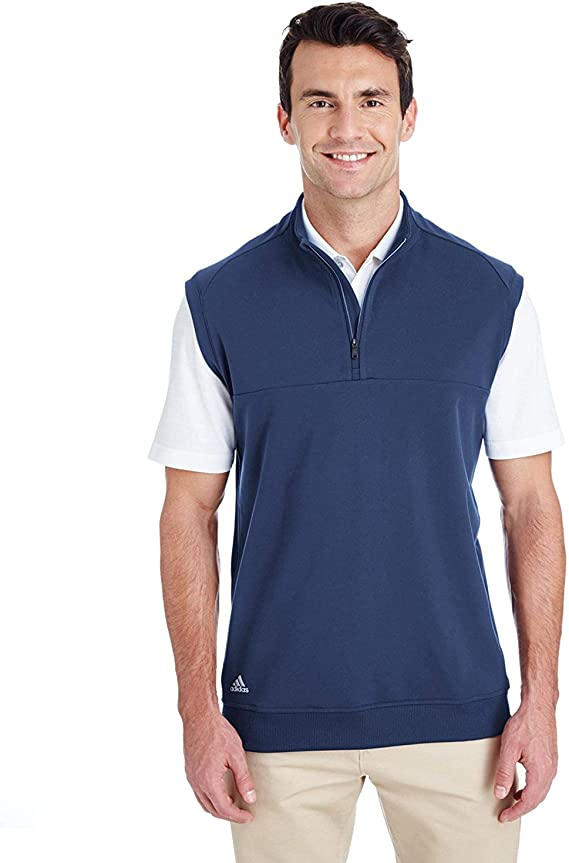 adidas A271 Quarter-Zip Club Vest