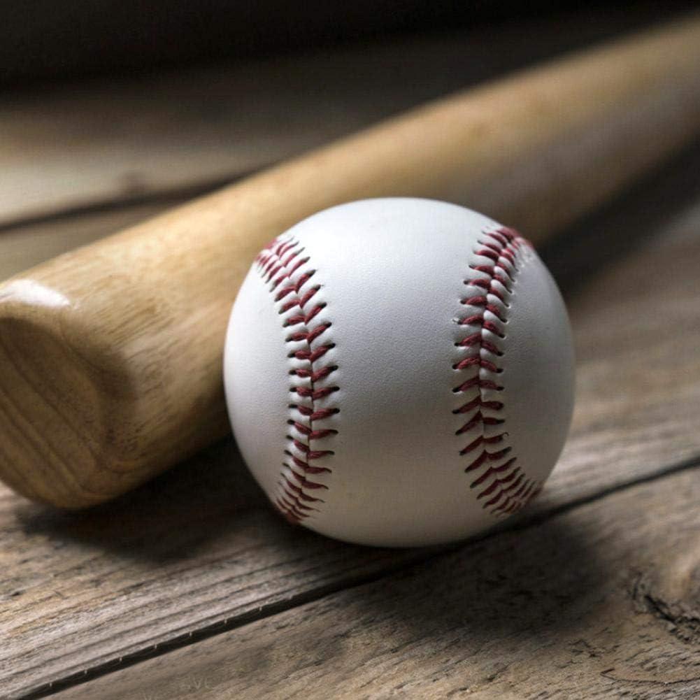 weiche F/üllung Schlagball Massivholzschl/äger f/ür Baseballschl/äger zum Spielen /üben Pu-Material Trainings-Baseball Huairdum Weicher Baseball