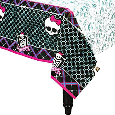 Table Cover | Monster High Collection | Party Accessory: Toys & Games