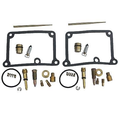 KIPA Carb Carburetor Rebuild Kit For YAMAHA Banshee 350 YFZ350 YFZ350SE YFZ350LE YFZ 350 ATV Quad 1988-2006: Automotive